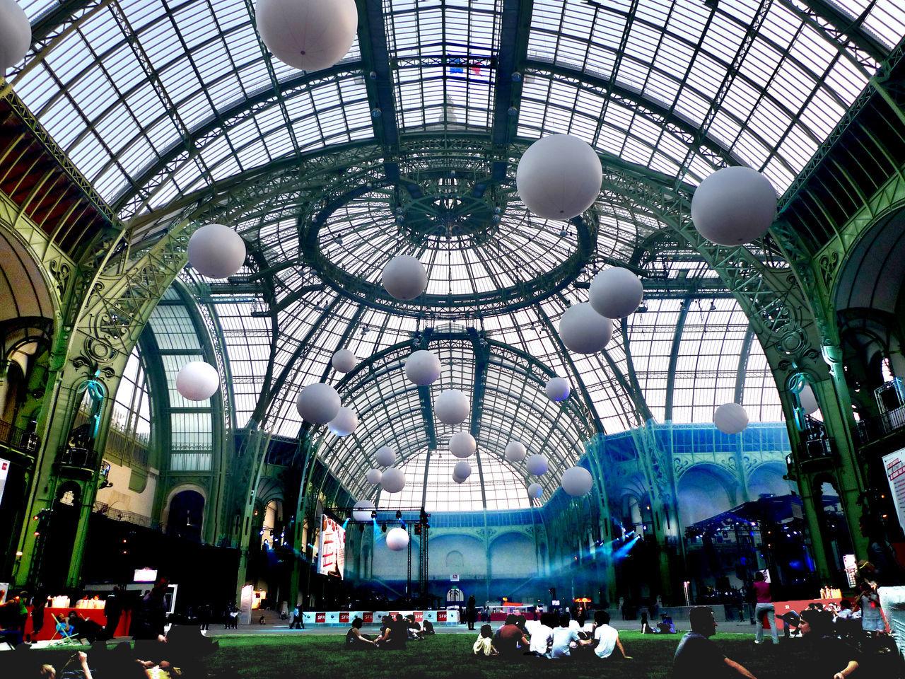 Architecture Architecture Built Structure Ceiling Dome Grand Palais Paris Monumental Buildings The Architect - 2017 EyeEm Awards The Photojournalist - 2017 EyeEm Awards Travel Destinations