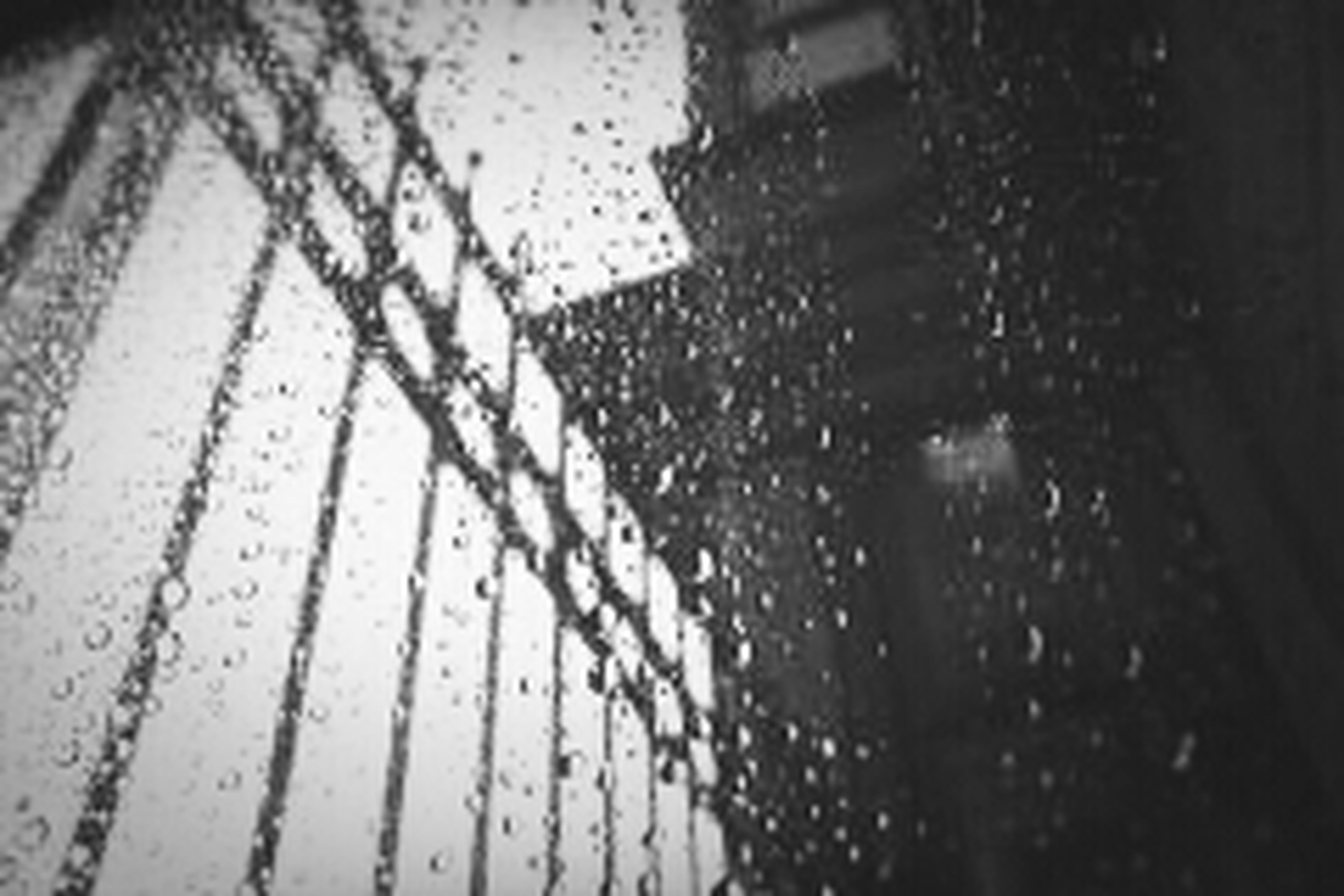 wet, drop, rain, water, close-up, indoors, raindrop, window, focus on foreground, selective focus, season, monsoon, glass - material, built structure, street, full frame, backgrounds, weather, no people, metal