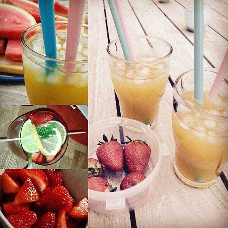 Cocktails cocktailscocktails Dersommeristquasida Readyforthesummer Früchteüberall Liosnapshot Lovefruitsbeforedudes Kunterbuntersommer ♡