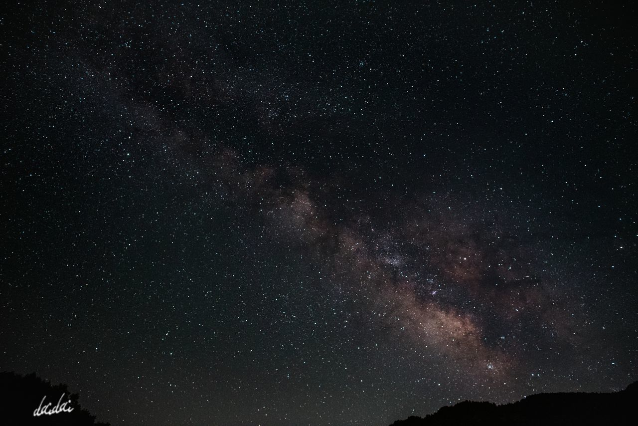 どの星にどんな願いをかけようか D750 The Great Outdoors - 2017 EyeEm Awards 星の文化館 Sky Space Milky Way Star - Space Astronomy Night Galaxy Star Field Nature Science Scenics Space Exploration Beauty In Nature No People Outdoors Fukuokadeeps 天の川 Lightroom Edit 星野村