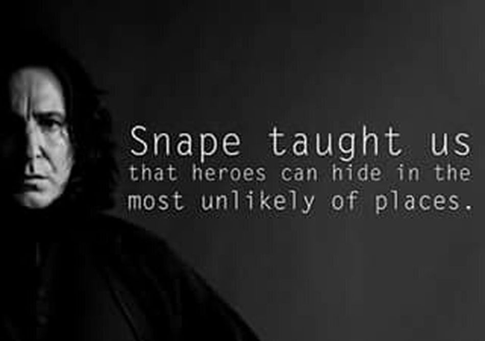 You are my Hero. Severus Snape R.I.P Alan Rickman Harrypotter Alan Rickman Severus Snape Harrypotterfan