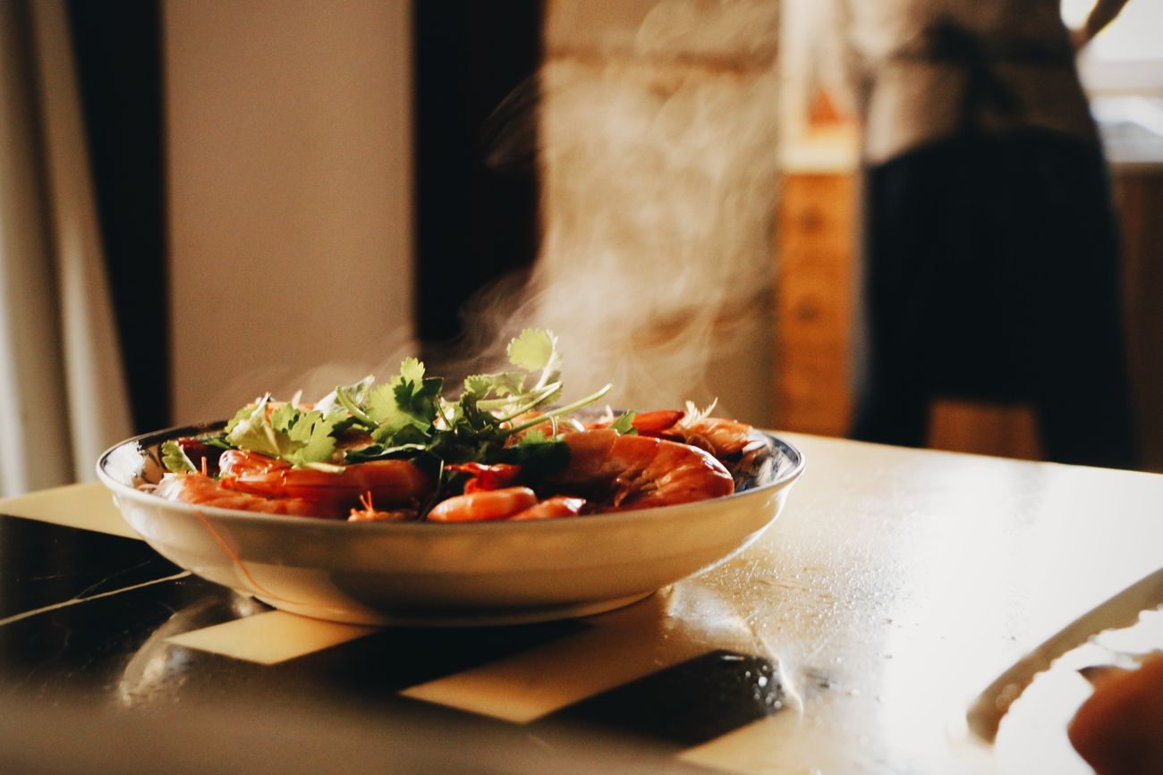Food Shrimps Healthy Eating Chinese Food Food Photography