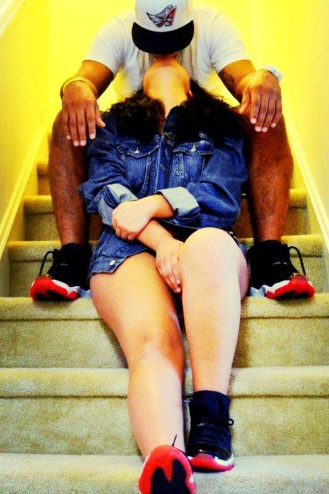 Next Time These J's Come Out, Me An My Gf Gonna Take A Pic Like This <3