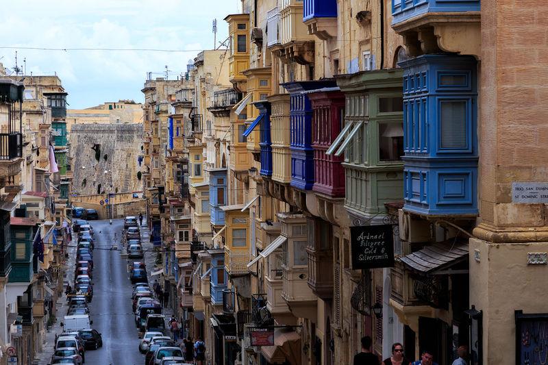 Architecture Architecture_collection Balcony Capital Cities  Capital City Flair Malta Maltaphotography Malta♥ Medeteranian Flair Summer Urban Valetta Valetta,Malta