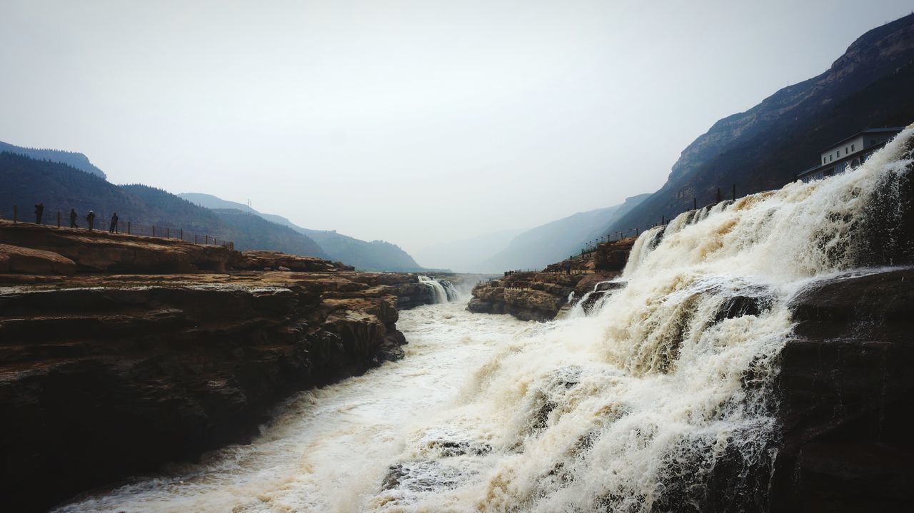 Beautiful stock photos of wasserfall, Day, Flowing Water, Fog, Mountain