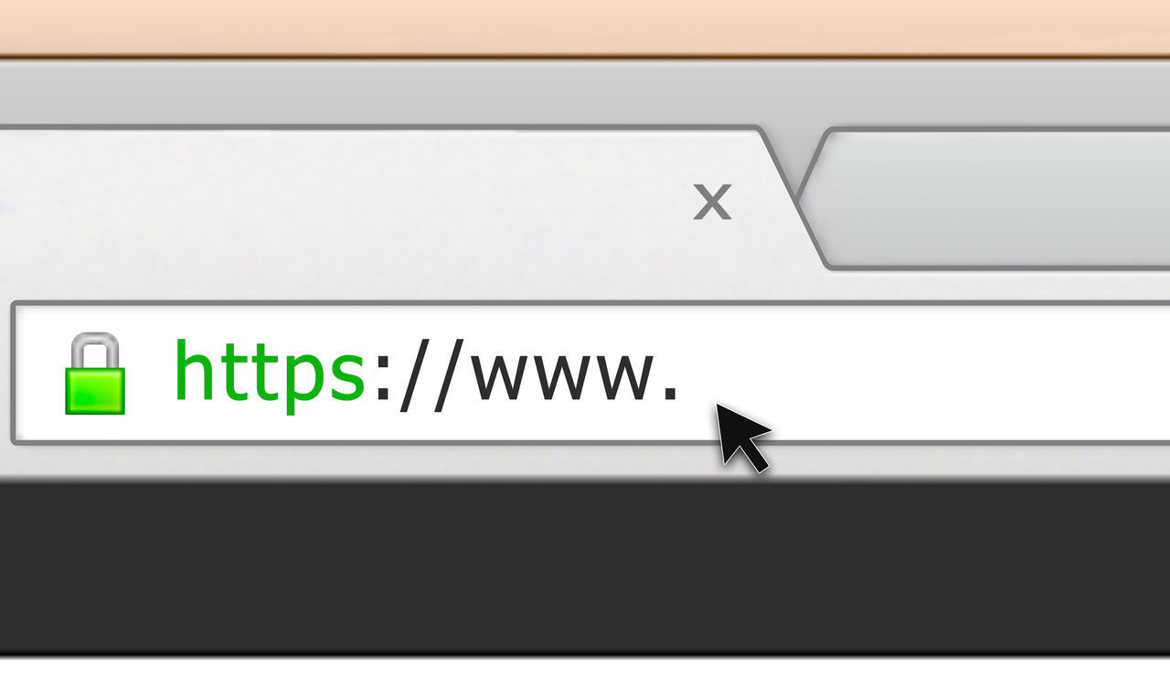 Illustration of a web browser address bar, with a green lock security icon Address Bar Blank Business Communication Computer Corporate Business Cursor Cyber Attack Cyber Security Cyberspace Http Internet Internet Addiction Internet Security Location Online  Online Presence Safety Secure Secure Browser Security Icon Table Technology Web Address Www