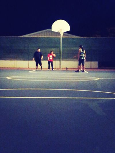 Trynna use the good hoop..waiting for these gay boyz to leave :p Gayy Boyz