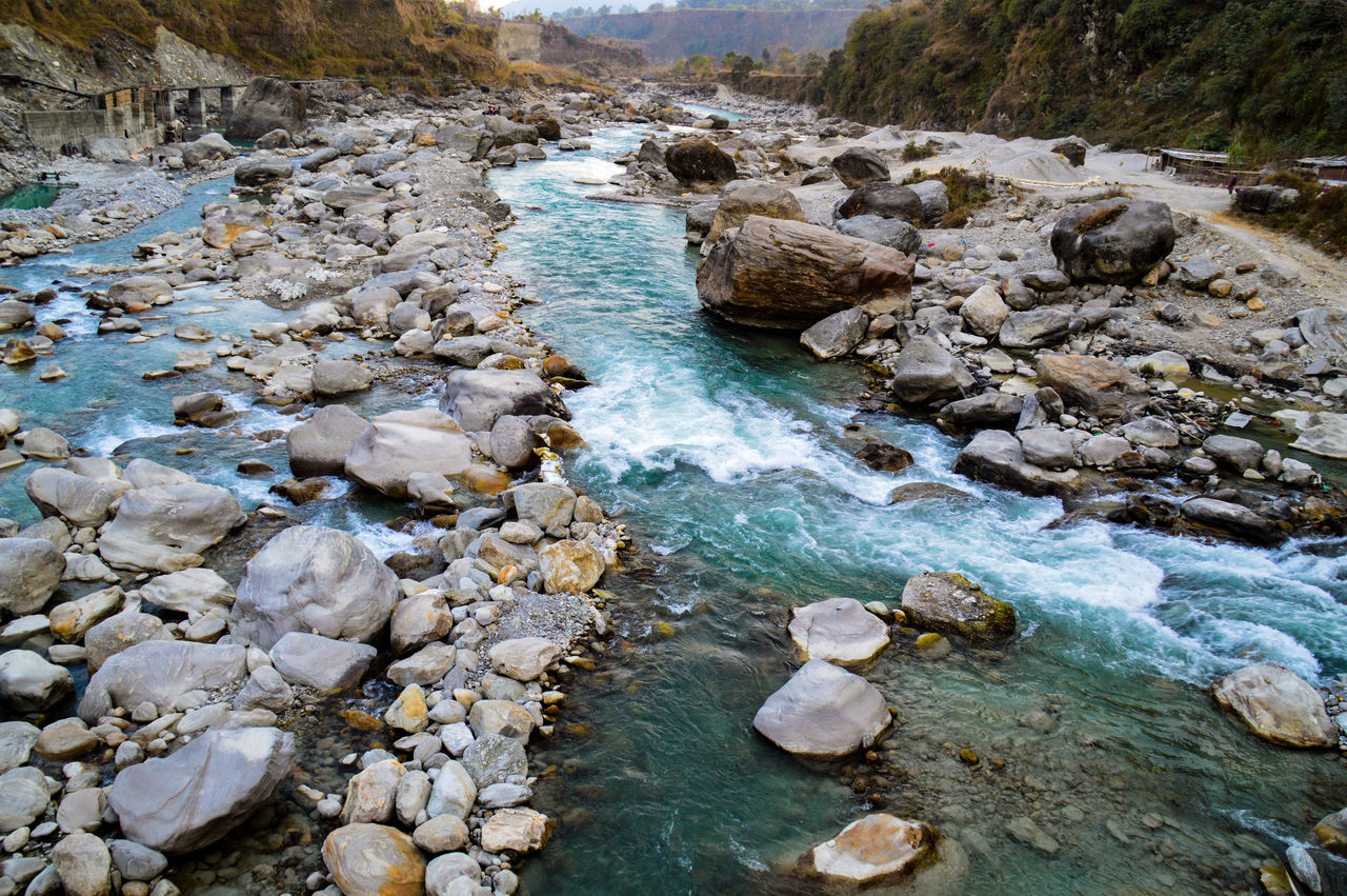 Seti River Pokhara, Nepal Water Nature Day Outdoors Rock - Object No People Tranquility Beauty In Nature Scenics Tree River Rapids Rocky River Travel Photography Travel Destinations Serenity Placid  Beauty In Nature Nepal Personal Perspective Rushing Water Riverscape Landscape EyeEm Nature Lover