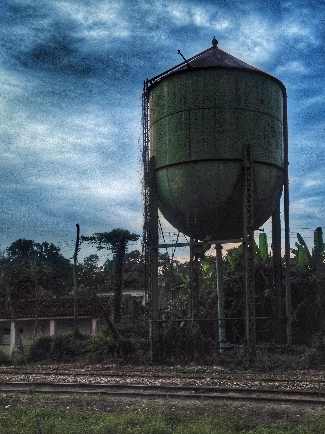 Old water tank Watertank Mobile Photography IPhoneography