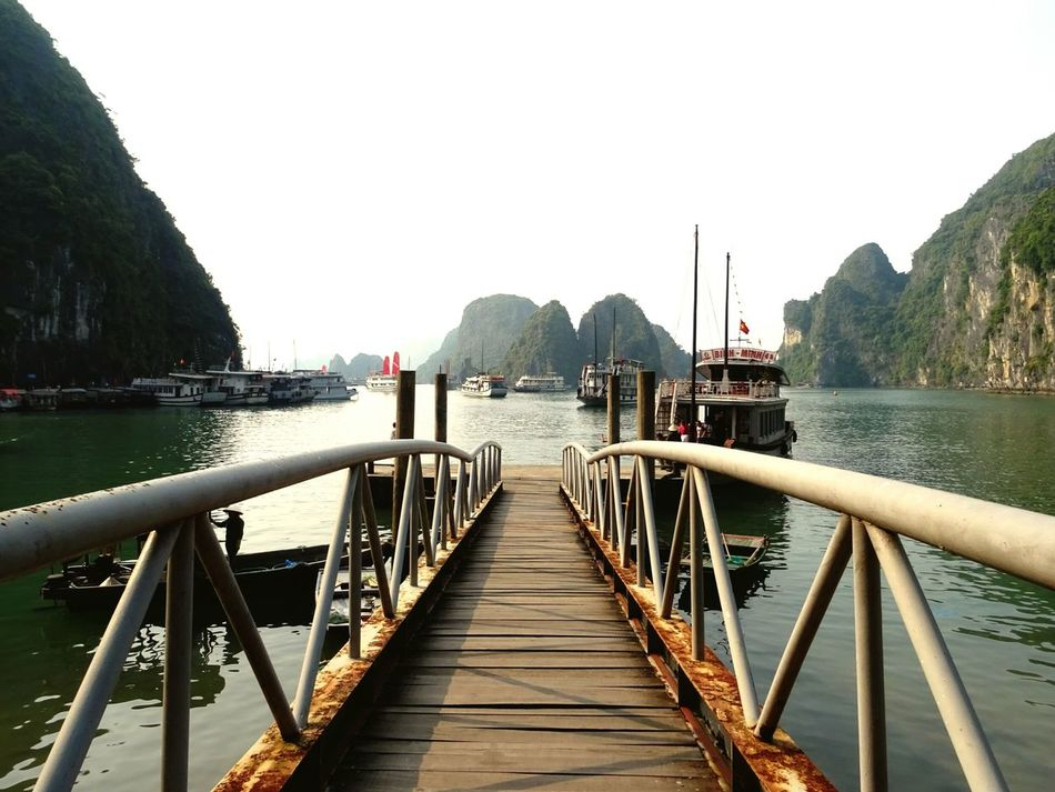 Beautiful stock photos of vietnam, Architecture, Boat, Built Structure, Clear Sky