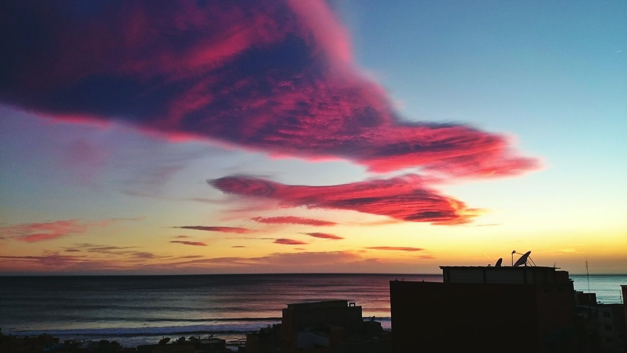 Sunset Cloud - Sky Sky Sea Outdoors Travel Destinations No People City Beach Nature Day Nature Landscape Scenics Travel Photography Morroco Tagazout Beach Mountain Travel Anchor Point