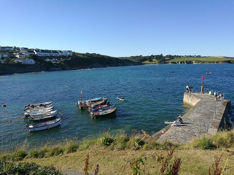 Cornwall Beauty In Nature Scenics Nature Travel Destinations Tranquility Water Nautical Vessel Transportation Outdoors Clear Sky EyeEmNewHere