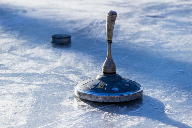 Cold Temperature Eisstock Fun Ice Kanal Lake No People Nymphenburg Nymphenburg Palace Outdoors Snow Snow ❄ Sport Tradition Winter Winter Ice Stock Sport Ice Stock Stockschießen Nymphenburger Kanal Bavarian Curling Bavarian Tradition Shades Of Winter