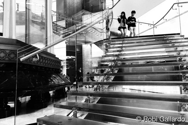 Studio City Macau Steps And Staircases Staircase Built Structure Stairs Blackandwhite AMPt_community Black & White Monochrome Streetphotography_bw Streetphoto_bw Iphone6plus AMPt - Street NEM Street Theappwhisperer NEM Black&white Shootermag WeAreJuxt.com Eyeem Philippines IPhoneography NEM Submissions