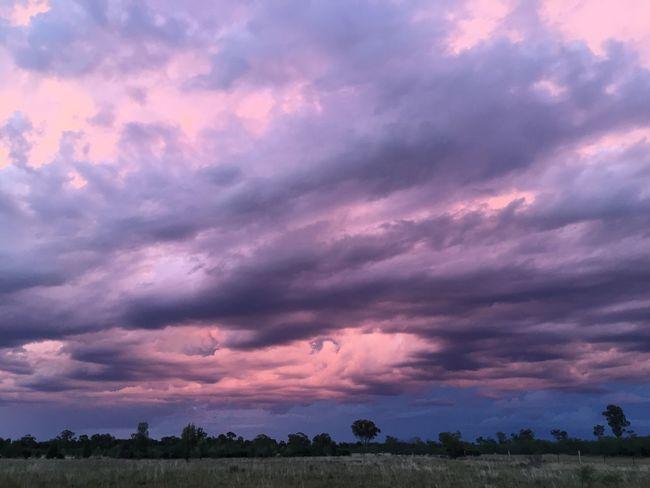Pastel skies .. Scenics Beauty In Nature Nature Cloud - Sky Sky Tranquil Scene Landscape Rural Scene
