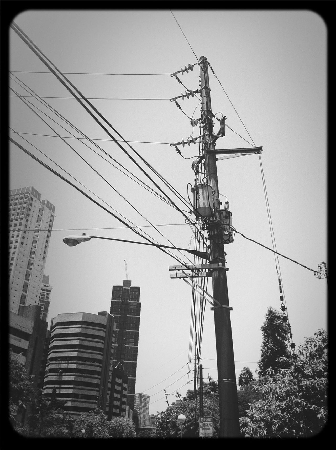 Streetphotography Blackandwhite Power Lines Streetphoto_bw