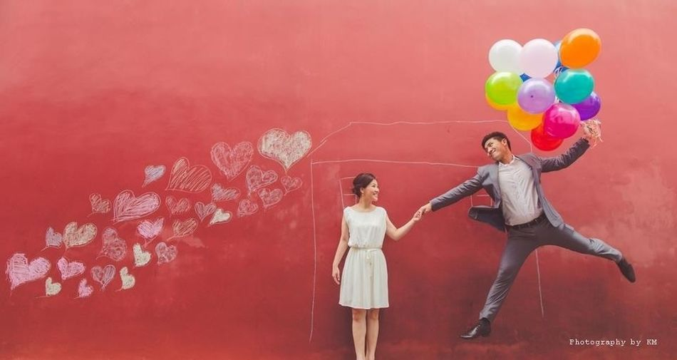 Colors Dance With Me - Prewedding By KM Pantone Colors By GIZMON