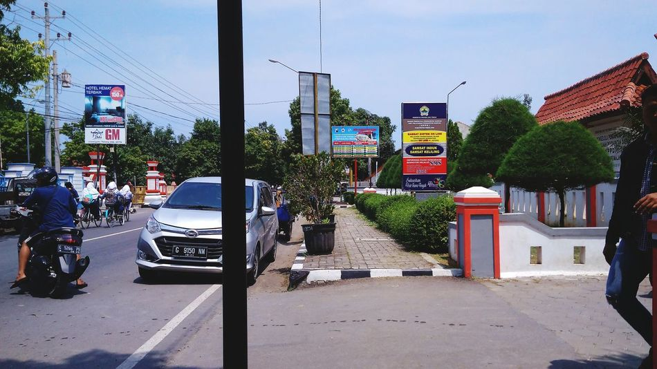 Pemalang City Street City Life Street Car Outdoors City Road Day Tree No People Architecture Sky