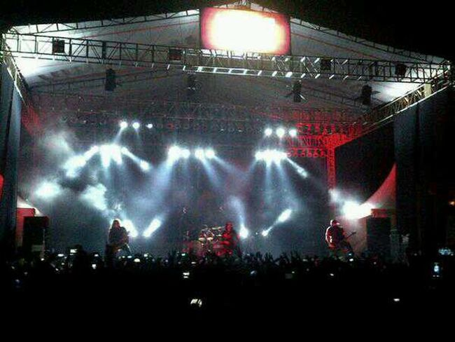 BEHEMOTH ON STAGE ROCK IN SOLO 2013 Rockinsolo RIS2013 Concert