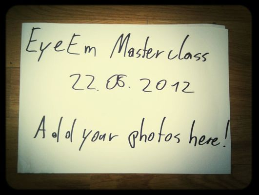 EyeEm Masterclass at EyeEm HQ by Severin