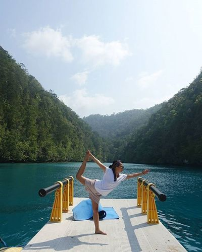 let nature guide you here. ikhlas. and after that, let it calm you down. breathe. Yoga Yolaglife Yogaeverywhere Rajaampat Kabui Papua INDONESIA Folkindonesia Livefolk Livefolkindonesia Liveauthentic Wonderful_places Goasean Goodtravellers Indotravellers