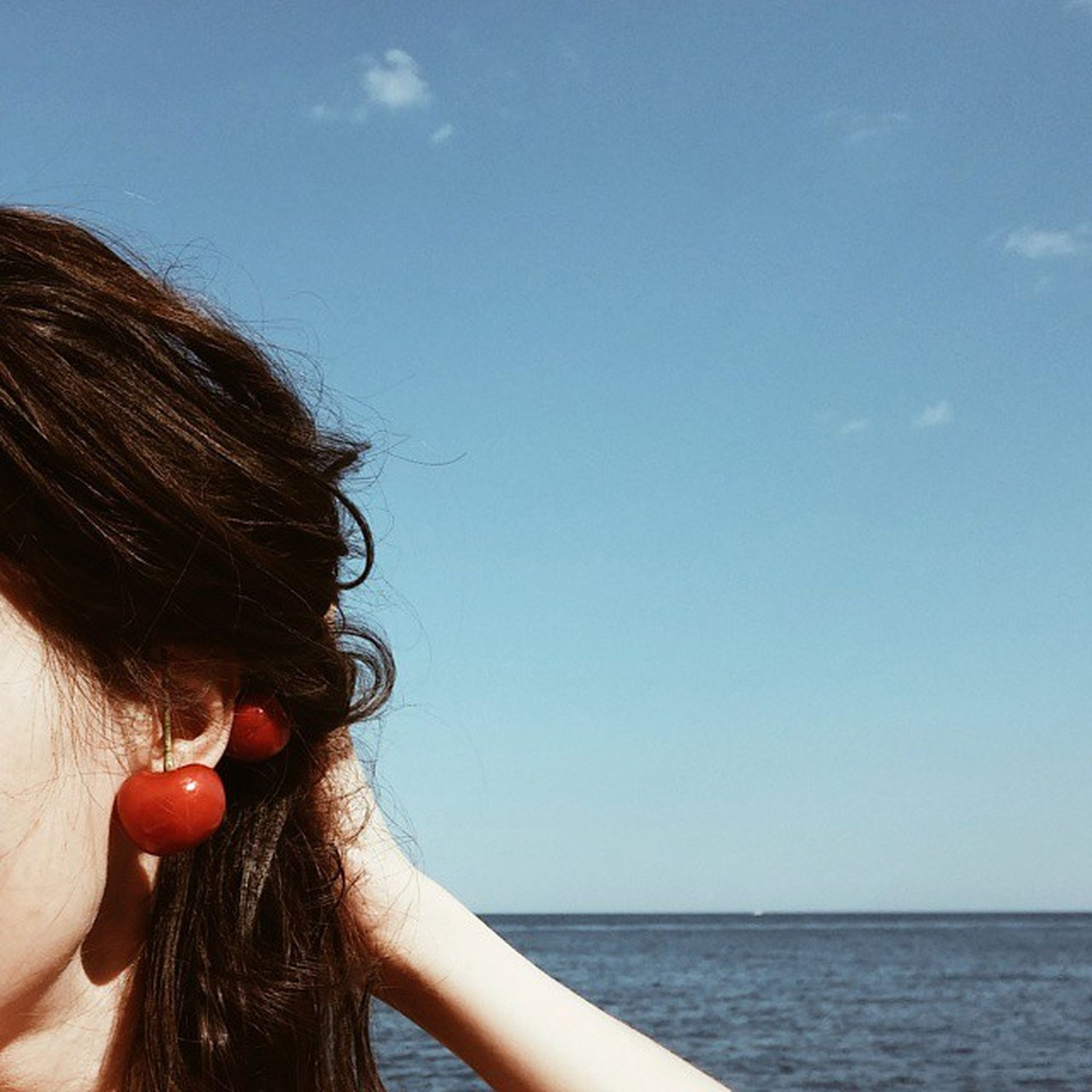 Cherry is the new cuff🍒 Или привет из Одессы💭 Picoftheday Od_insta Seastyle Sea Style Cherrylover Cherry Cuff Sealover  Sky Hair Hairstyle Hello Ears Odessa Odessafm Insta_Odessa Vscocam VSCO Igukraine Woman Seapattern Earings одесса моренебооблака море черешня inspiration vacation bluesky