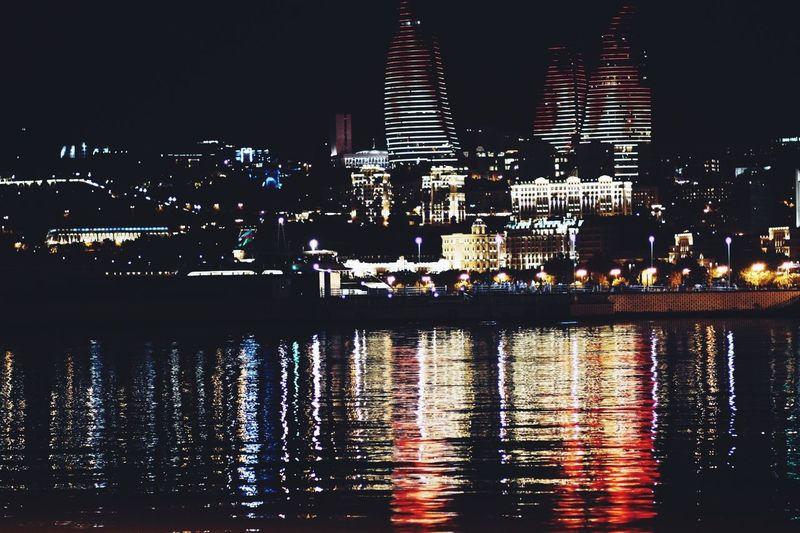 Vscocam Baku Bulvar Flametowers