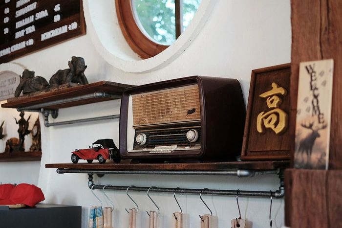 Indoors  Music Arts Culture And Entertainment Gramophone No People Day Radio Phrae Province Thailand