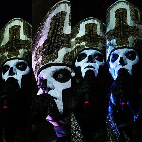 | G H O S T / G H O S T B.C. | @TheBandGhost |The Many Faces Of Papa Emeritus III @Copenhell | @BitchSlapMag Ghost Ghostbc  PapaEmeritusIII NamelessGhouls Satan Copenhell Hell HeavyMetal Copenhell2015 HeadBanger DoomMetal Satanic HailSatan ChildrenOfGhost AlchemicalSymbol OpusEponymous BitchSlapMag Infestissumam Meliora FinalDays MetalFestival Vikings Concert Refshaløen Scandinavia København Copenhagen Denmark Danmark Sweden
