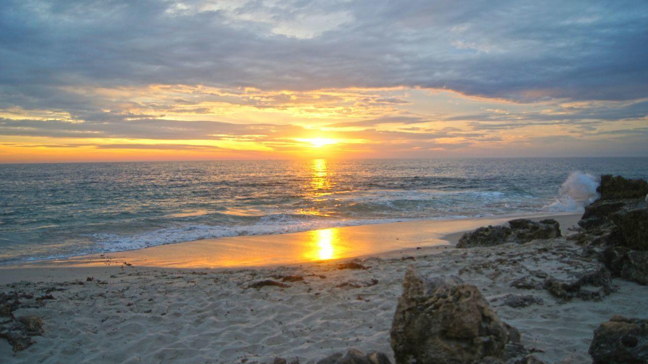 Sunset Sunset_collection Skyporn Fireysky Beach Beach Photography Beach Life Sunset Beach. Location: Burns Beach Perth Western Australia Australia