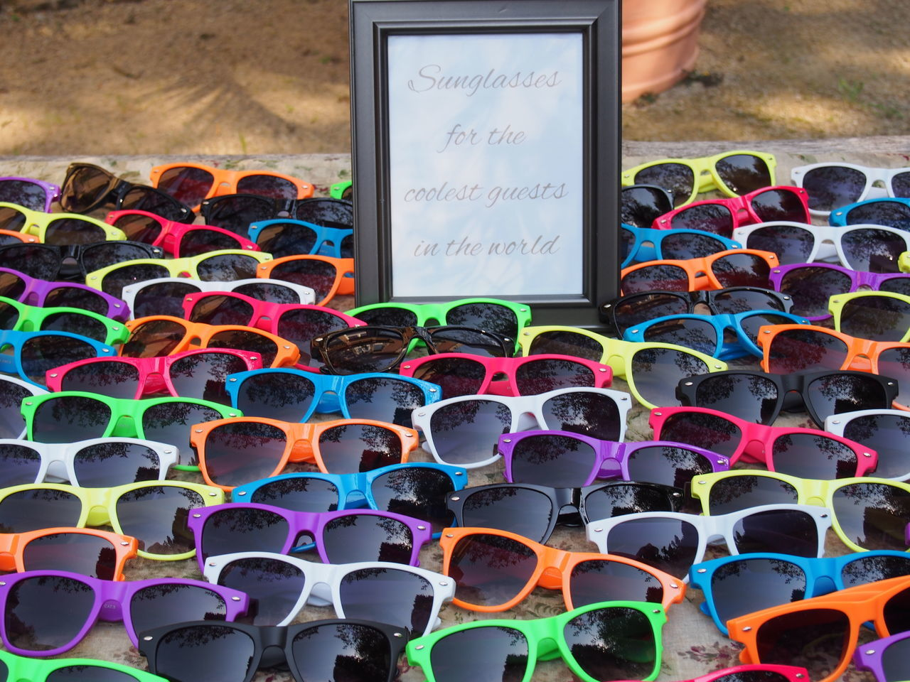 Glases colored 08.2016 Day Large Group Of Objects Multi Colored No People