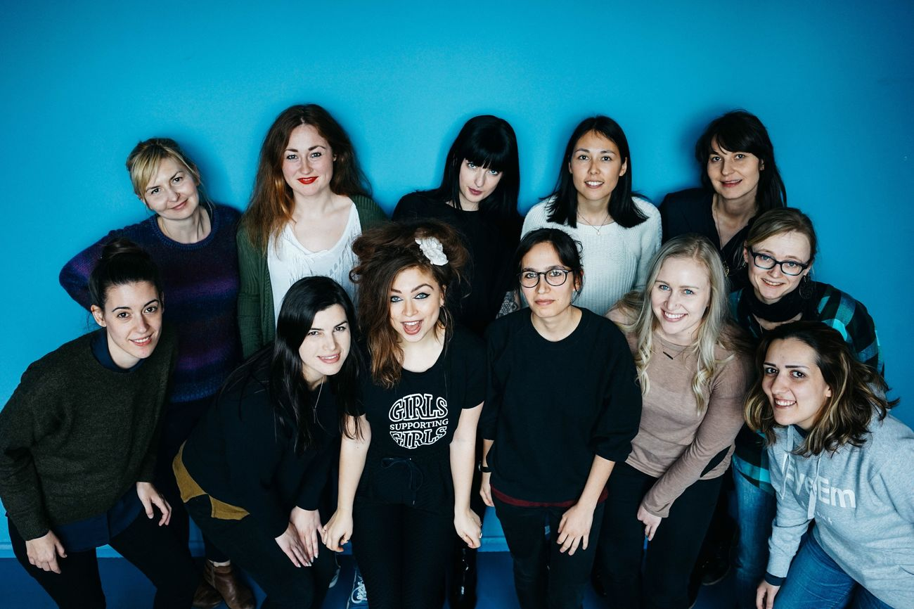 💙 This lovely bunch of EyeEm ladies wishes you a fierce International Women's Day! 💙 Who's your all time favorite female photographer?