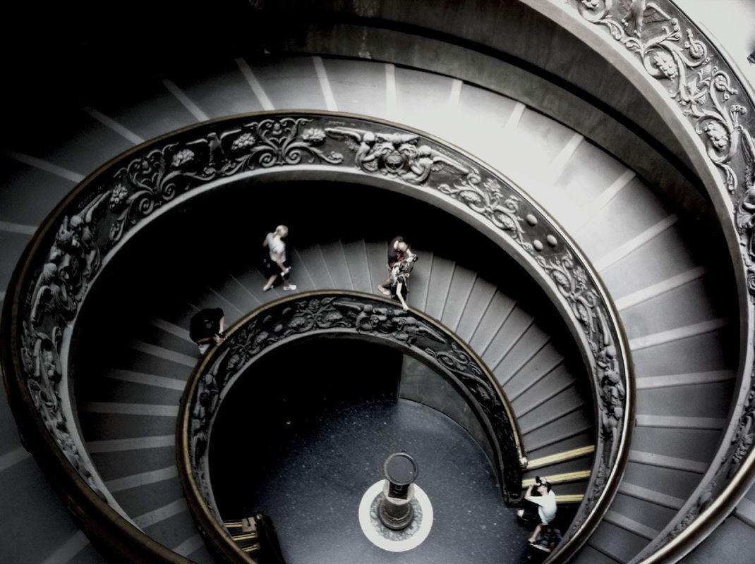 Spiral staircase by Atilla Öztürk