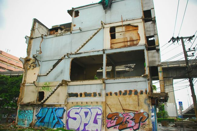 Bangkok Abandoned Buildings Beauty Of Decay Urban Escape The Architect - 2015 EyeEm Awards The Street Photographer - 2015 EyeEm Awards Urban Geometry Urban Decay Discover The World Urbanexploration