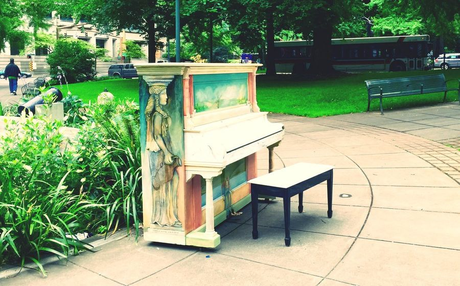 Beautiful Urban City Park Enjoying The View From My Point Of View Green Colors Music Downtown Fun Cityscapes