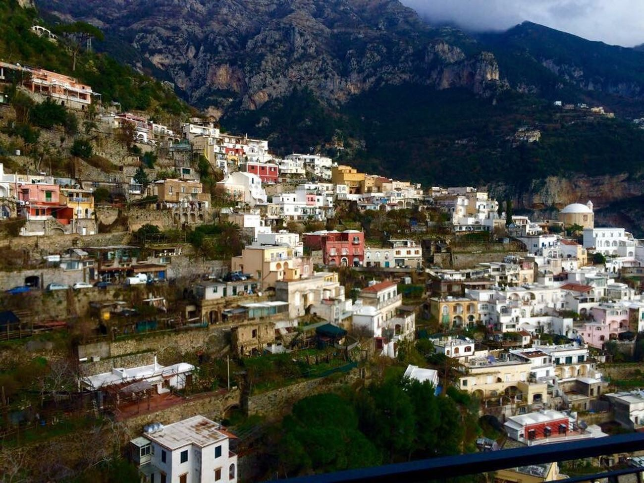 Amalfi Architecture Building Exterior Built Structure High Angle View Town Residential District Crowded Mountain House Outdoors Tree Residential Building Village Day Housing Settlement Sky Cityscape Community