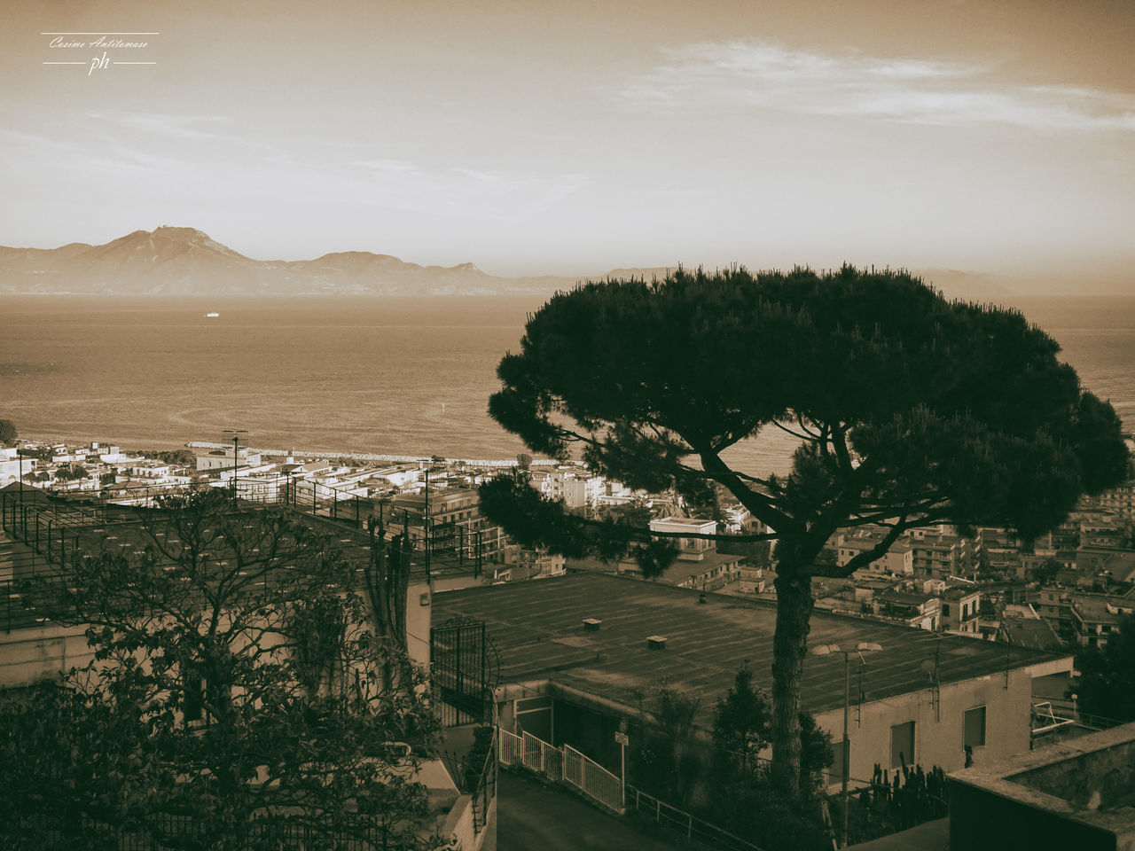 Architecture Beauty In Nature Building Exterior Built Structure City Cityscape Day High Angle View House Landscape Mountain Napoli Napoli ❤ Napoliphotoproject Nature No People Outdoors Residential Building Scenics Sea Sky Town Tree Water