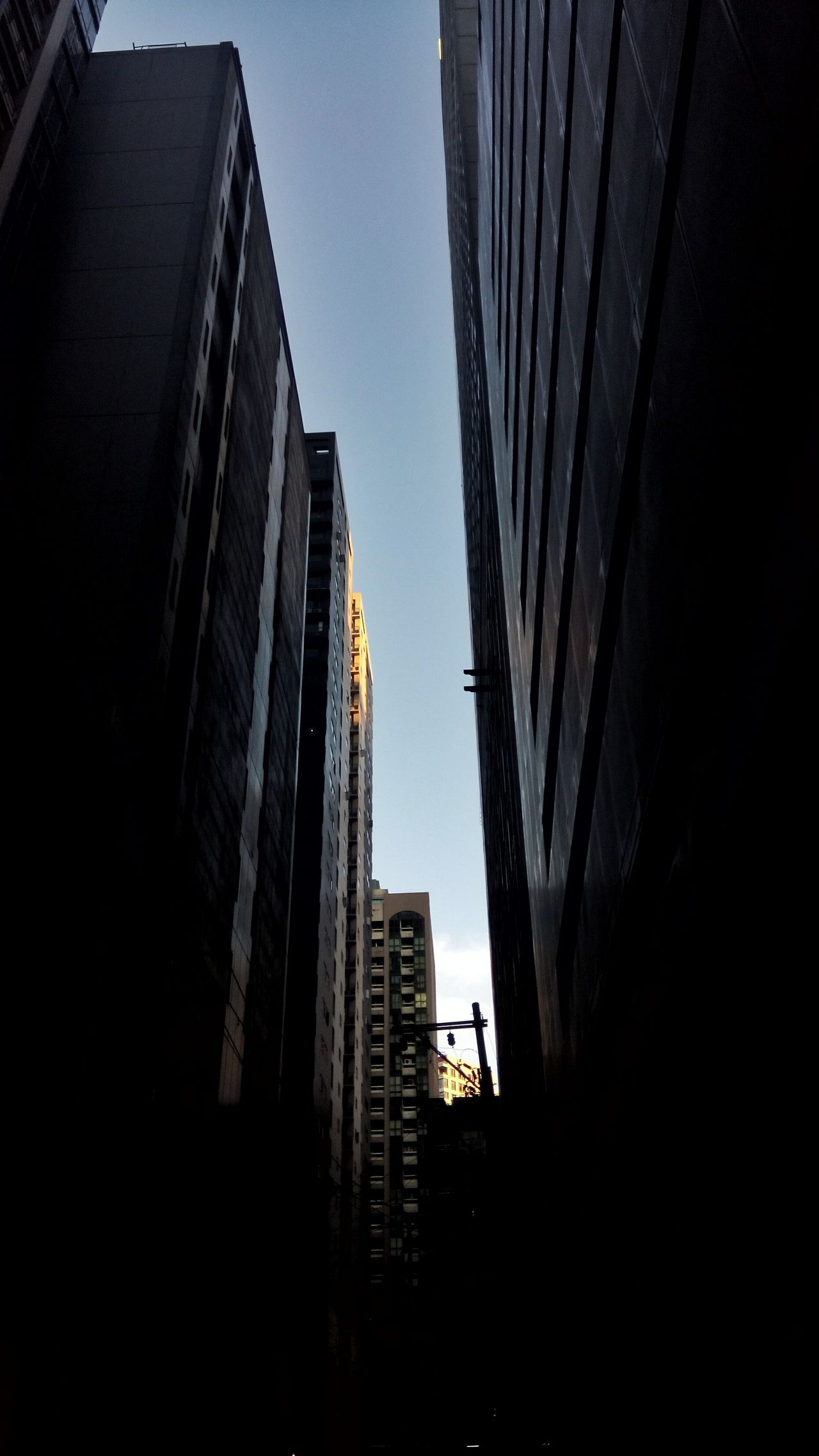 Architecture City Building Exterior Futuristic Skyscraper Outdoors Built Structure Low Angle View Sky No People Night Buildings & Sky Buildingstyles
