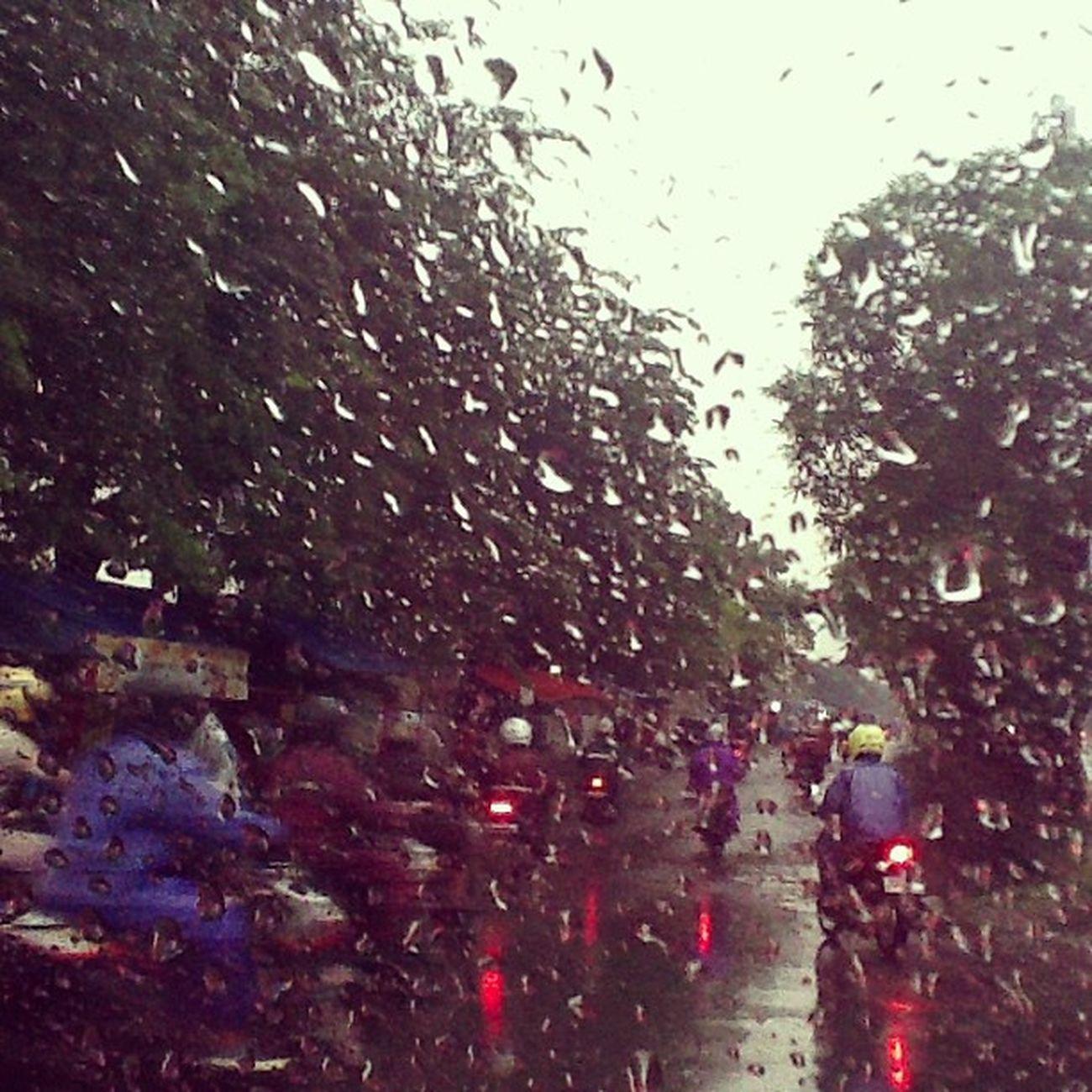 Rainy jakarta