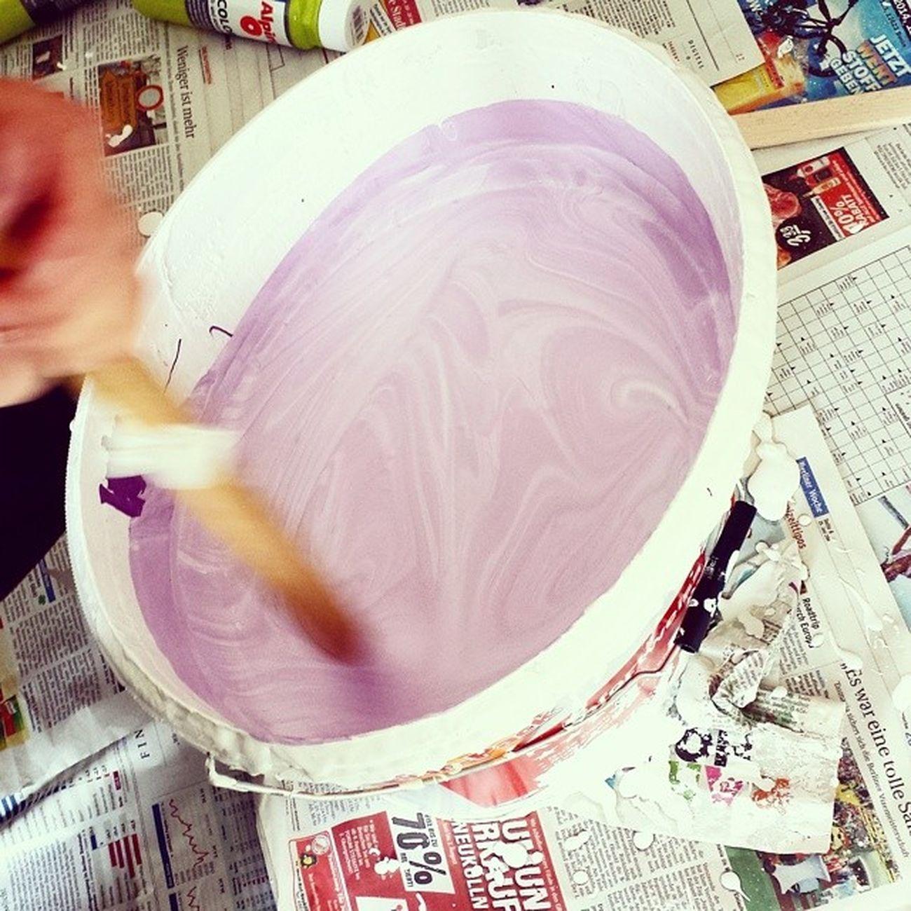 Es wird bunt! Is24socialday Farbe Malern