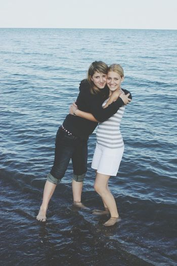 happy times at lake ontario love my seester