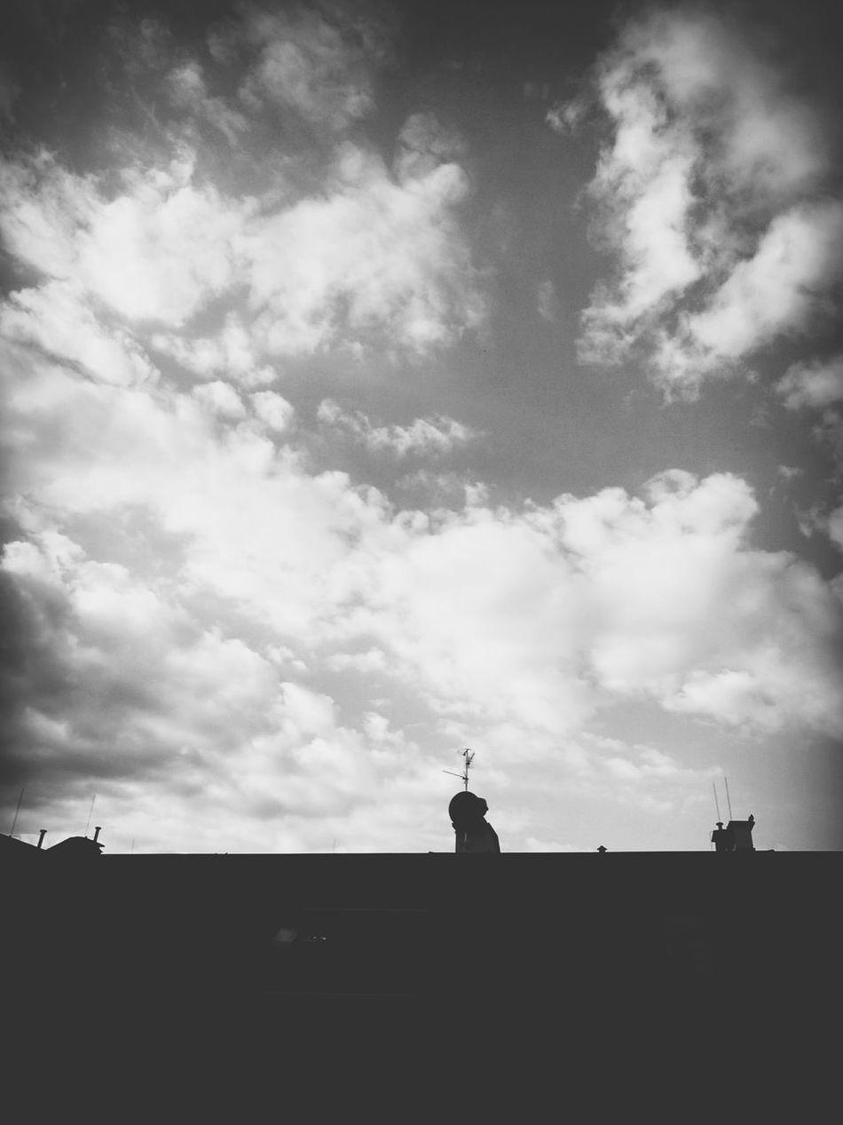 Blackandwhite Black & White B&w B&w Photography Clouds And Sky Minimalism Minimalobsession