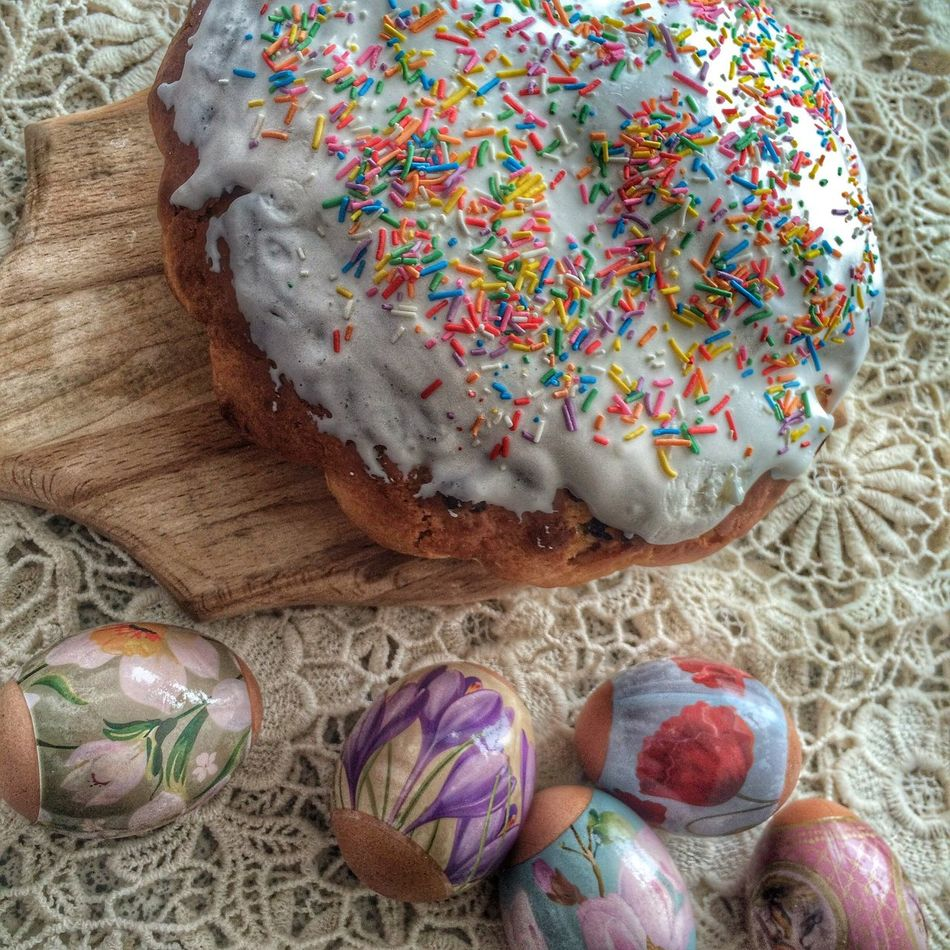 Праздник светлой Пасхи ☀️ пасха куличи яйца First Eyeem Photo