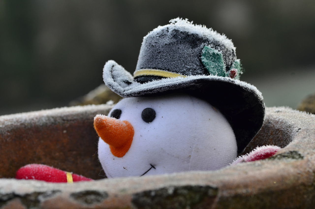 Beautiful stock photos of snowman, Creativity, Cultures, Day, Hat