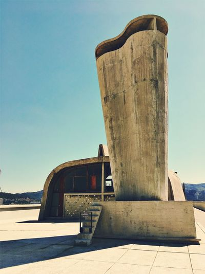 Sunlight Outdoors Architecture No People Brutalism Le Corbusier Marseille