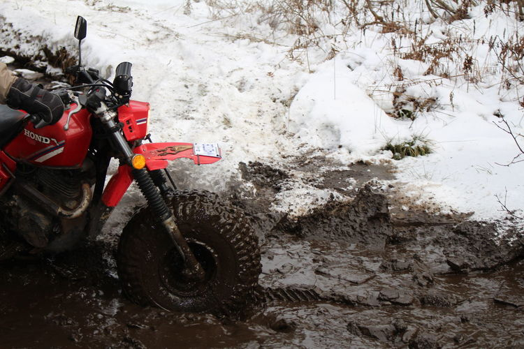Quebec VTT Bouette Hiver Snow 3roues Sport Transportation Motorsport Sports Race Day One Person Outdoors Nature