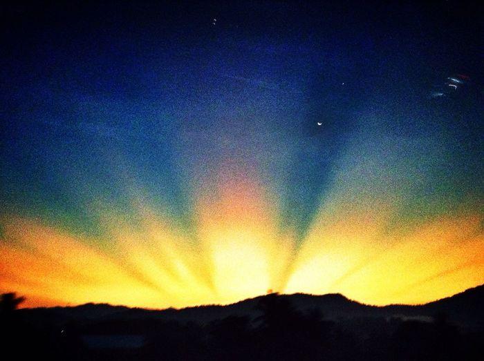 Hopeful sunrise