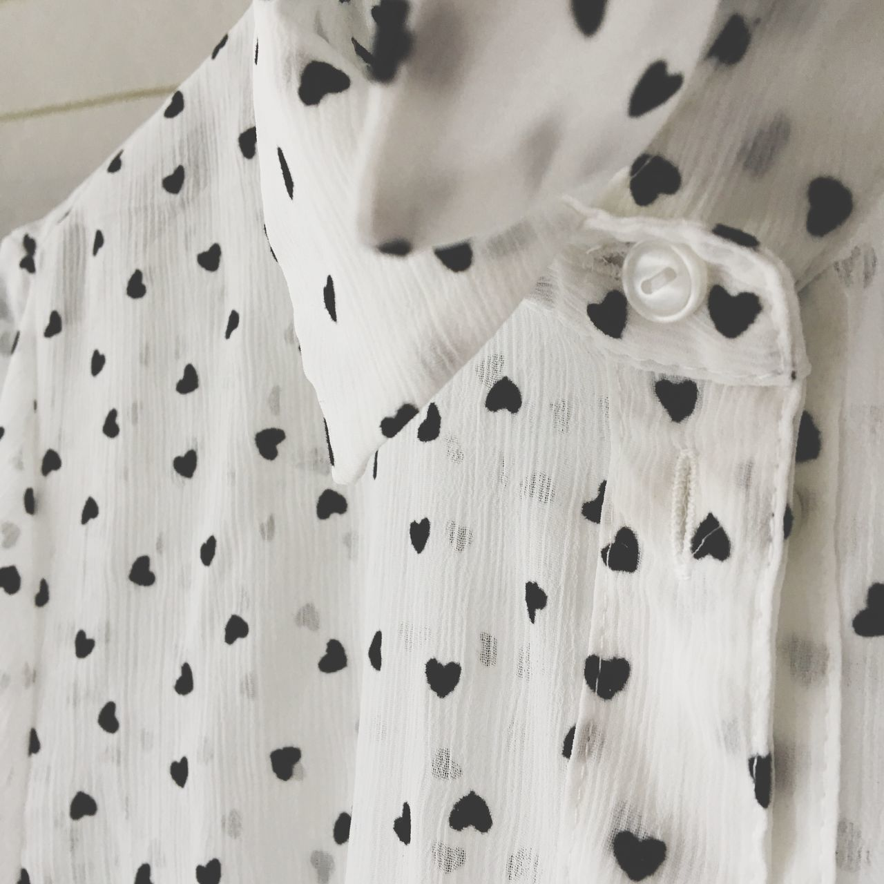EyeEm Selects Heart Dress Shirt Indoors  Close-up No People Day White Color Indoors  Womanity  Collection