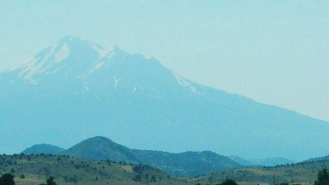 Mountain Range Nature Photography Mount Shasta, California