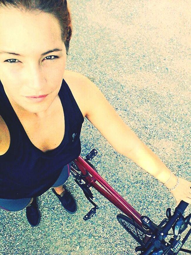 100km after..so good :) Girlbike Cycling Bikelife Facesofeyem
